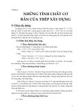Giáo trình kết cấu thép - Chương 1