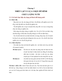 MÔ HÌNH CHẤT LƯỢNG NƯỚC - CHƯƠNG 3