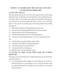 GIÁO TRÌNH VỀ MÔN QUAN TRẮC VÀ KHẢO SÁT - PHẦN I PHƯƠNG PHÁP LUẬN VỀ GIÁM SÁT (MONITORING) CHẤT LƯỢNG MÔI TRƯỜNG CHƯƠNG 2