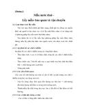 GIÁO TRÌNH QUAN TRẮC VÀ KHẢO SÁT - PHẦN II  QUAN TRẮC KHẢO SÁT MÔI TRƯỜNG NƯỚC VÀ ĐẤT CHƯƠNG 2