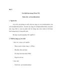 Thí nghiệm quan trắc khảo sát môi trường - Phần 2 - Bài 9