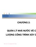 QUẢN LÝ CHẤT LƯỢNG TRONG XÂY DỰNG CƠ BẢN - CHƯƠNG 2