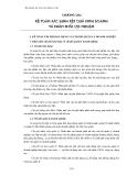 Kế toán xây dựng cơ bản - Chương 6