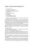 Giáo trình thông tin số - Chương 2 Truyền tin số qua kênh băng cơ sở