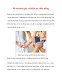 Đề cao cảnh giác với bệnh tay chân miệng