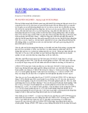 Tài liệu Luật phá sản 2004