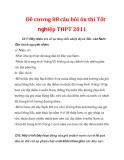 Đề cương 88 câu hỏi ôn thi Tốt nghiệp THPT 2011 Chuyên đề 17: Hãy nhận xét về sự thay đổi nhiệt độ từ Bắc vào Nam.