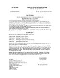 QUYẾT ĐỊNH Số: 51/2007/QĐ-BTC VỀ VIỆC BAN HÀNH CHẾ ĐỘ KẾ TOÁN BẢO HIỂM XÃ HỘI