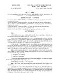 QUYẾT ĐỊNH Số: 63/2007/QĐ-BTC VỀ VIỆC QUY ĐỊNH MỨC THU, CHẾ ĐỘ THU, NỘP, QUẢN LÝ VÀ SỬ DỤNG PHÍ Y TẾ DỰ PHÒNG VÀ PHÍ KIỂM DỊCH Y TẾ BIÊN GIỚI