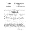 QUYẾT ĐỊNH Số: 94/2007/QĐ-BTC VỀ BAN HÀNH QUY CHẾ THI VÀ CẤP CHỨNG CHỈ KIỂM TOÁN VIÊN VÀ CHỨNG CHỈ HÀNH NGHỀ KẾ TOÁN