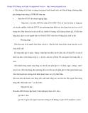 Kế tóan thanh tóan về các khỏan phải thu và phải trả khách hàng tại Cty Xuất nhập khẩu - 4
