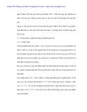 Nghiên cứu biến động GDP Thị xã Tam Kì từ 2000 - 2002 - p2
