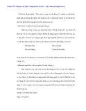 Phân tích tình hình sử dụng vốn lưu động tại Cty hữu nghị - 4