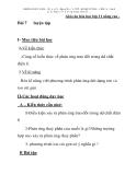 Giáo án hóa học lớp 11 nâng cao -  Bài 7  luyện tập