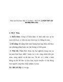Giáo án hóa học lớp 12 cơ bản – Tiết 39: LUYỆN TẬP: SỰ ĂN MỊN KIM LOẠI