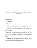 Giáo án hóa học lớp 12 cơ bản – Tiết 35: SỰ ĂN MỊN KIM LOẠI (tiết 2)