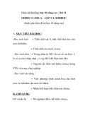Giáo án hóa học lớp 10 nâng cao - Bài 31 HIĐRO CLORUA - AXIT CLOHIĐRIC