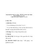 Giáo hóa học lớp 12 cơ bản - Tiết 55: LUYỆN TẬP: TÍNH CHẤT HỐ HỌC CỦA SẮT V HỢP CHẤT QUAN TRỌNG CỦA SẮT