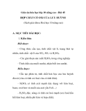 Giáo án hóa học lớp 10 nâng cao - Bài 45 HỢP CHẤT CÓ OXI CỦA LƯU HUỲNH