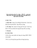 Giáo án hóa học lớp 12 cơ bản – Tiết 45 : LUYỆN TẬP:  TÍNH CHẤT CỦA KIM LOẠI KIỀM, KIM LOẠI KIỀM THỔ V HỢP CHẤT CỦA CHNG