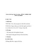 Giáo án hóa học lớp 12 cơ bản – Tiết 46 : NHÔM V HỢP CHẤT CỦA NHÔM