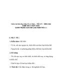 Giáo án hóa học lớp 12 cơ bản – Tiết 43 : KIM LOẠI KIỀM THỔ V HỢP CHẤT QUAN TRỌNG CỦA KIM LOẠI KIỀM THỔ(T1)