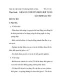 Giáo án vật lý lớp 10 chương trình cơ bản Thực hành  Tiết 13-14:  KHẢO SÁT CHUYỂN ĐỘNG RƠI TỰ DO XÁC ĐỊNH GIA TỐC  RƠI TỰ DO