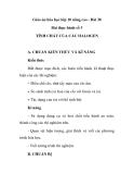 Giáo án hóa học lớp 10 nâng cao - Bài 38 Bài thực hành số 3 TÍNH CHẤT CỦA CÁC HALOGEN