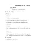 Giáo án hóa học lớp 11 nâng cao - Bài 46 BENZEN VÀ ANKYLBENZEN