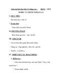 Giáo án hóa học lớp 11 nâng cao -  Bài12 : AXiT  NiTRiC VÀ MUỐi NiTRAT( tt )