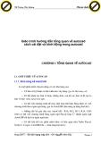 Giáo trình hướng dẫn tổng quan về autocad cách cài đặt và khởi động trong autocad p1