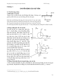 Cơ học đại cương - Phần 1 Cơ học vật rắn - Chương 1