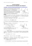 Bài tập cơ học đại cương - Phần 1 Cơ học vật rắn - Chương 2