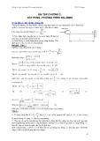 Bài tập cơ học đại cương - Phần 2 Dao động và sóng cơ - Chương 2