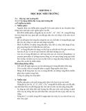 GIÁO TRÌNH ĐỘC HỌC MÔI TRƯỜNG - CHƯƠNG 3