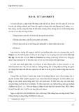 LẬP TRÌNH TRỰC QUAN - PHẦN II VISUAL BASIC - BÀI 16