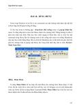 LẬP TRÌNH TRỰC QUAN - PHẦN II VISUAL BASIC - BÀI 18