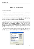 LẬP TRÌNH TRỰC QUAN - PHẦN II VISUAL BASIC - BÀI 24