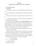 QUANG ĐIỆN TỬ VÀ QUANG ĐIỆN - CHƯƠNG 2