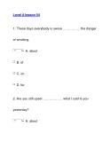 Level A lesson 54