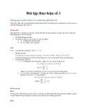Không gian mẫu, biến cố và phương pháp liệt kê