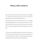 Phòng và điều trị bệnh sởi