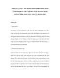 TƯƠNG QUAN GIỮA TỔN THƯƠNG XƠ VỮA TRÊN ĐỘNG MẠCH CẢNH VÀ ĐỘNG MẠCH VÀNH TRÊN BỆNH NHÂN ĐÁI THÁO ĐƯỜNG CÓ ĐAU THẮT NGỰC: NHÂN 24 TRƯỜNG HỢP