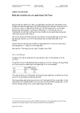 Phân tích Tài chính Nghiên cứu tình huống - Định giá cổ phiếu của các ngân hàng Việt Nam