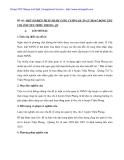Biện pháp tăng cường quản lý thu chi tại huyện Triêu Phong - Quảng Nam - p1