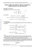 Các dạng bài tập về phương trình toán học