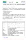 Báo cáo Quá trình xử lý nước thải GREE- Chương 1
