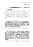 Giáo trình XỬ LÝ TÍN HIỆU AUDIO VÀ VIDEO - Chương 3