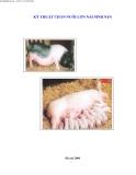 Kỹ thuật chăn nuôi lợn nái sinh sản part 1