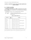 Ghép nối và điều khiển thiết bị ngoại vi - Chương 2